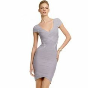 Herve leger light purple / sugar plum dress